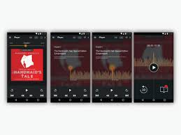 audible for android ui exploring for the app audible android by ruoxun chen dribbble