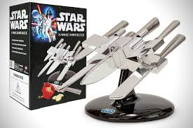 Cool Kitchen Knives Wars X Wing Knife Block Hiconsumption