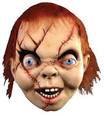 chucky mask of chucky mask accessories makeup