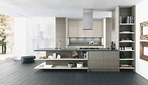 Modern Kitchen Design Prioritizes Efficiency Appliances Round Wooden Stool With Kitchen Furniture Ideas