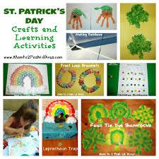 mom to 2 posh lil divas 15 st patrick u0027s day and rainbow crafts