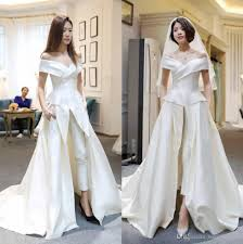 wedding dresses sale discount hot sale two pieces jumpsuits wedding dresses a line