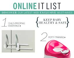 bergners bridal registry list bergners web exclusive baby must haves milled