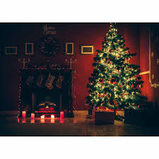 aliexpress com buy allenjoy christmas tree fireplace candle red
