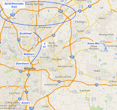Atlanta Street Map Great Runs In Atlanta U2013 Great Runs U2013 Medium