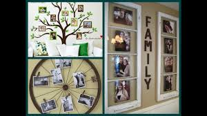 Picture Frame Wall by Diy Photo Display Ideas Creative Photo Wall Decor Youtube