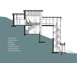 sloping house plans neoteric design inspiration slope house plans 3 steep slope home
