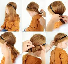 headband roll fresh cuts braid girl hairstyle updo do it yourself
