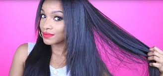 sew in weaves with bangs how to sew in a weave yourself hairstyling wonderhowto