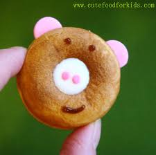 cute food for kids mini donut maker