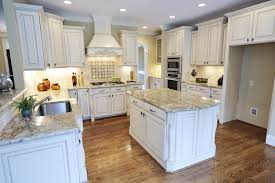 Types Of Backsplash For Kitchen by Granite Countertop Install Cabinets Kitchen Copper Range Hood