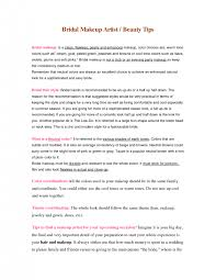 download makeup artist resume on set standby makeup artisthair