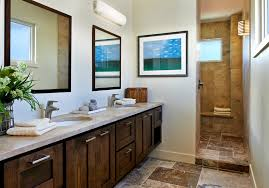 open shower design bathroom contemporary with stone shower wall