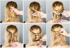 Hochsteckfrisurenen Anleitung Kostenlos by Lässige Hochsteckfrisuren Für Mittellange Haare 12 Tolle Styling