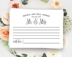 wedding well wishes cards best marriage advice etsy
