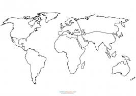 world map coloring pages printable world map coloring page kidspressmagazine com