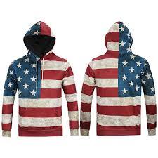 American Flag Hoodies For Men Mr Baolong Old Glory Hoodie America 3d Hooded Men Women Hoodies