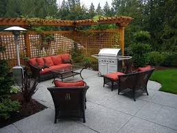 home design backyard ideas on a budget patios deck kitchen