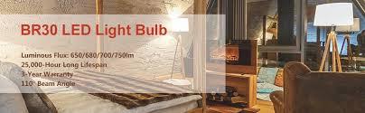 br30 led bulbs luminwiz 9w flood light bulb dimmable 65w