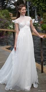 high waist wedding dress noya bridal collection wedding dresses illusions empire