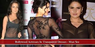 transparent dresses actresses in transparent dresses must see
