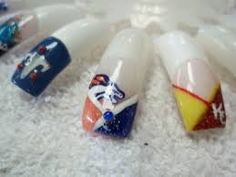 nfl football nails designs tennessee titans denver broncos kansas