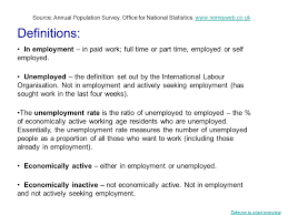 employment unemployment and economic activity coventry working