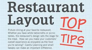 restaurant design layout top tips restaurant management for