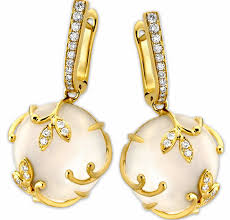 earing design contemporary luxury of pearl earrings design for women