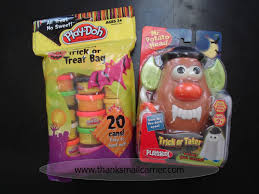 halloween sweet bags thanks mail carrier hasbro halloween play doh trick or treat