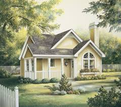 Two Bedroom Houses Eplans Cottage House Plan Two Bedroom Cottage 1084 Square Feet