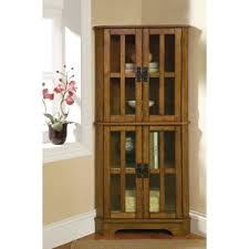 Mission Style Curio Cabinet Plans Display Cabinets You U0027ll Love Wayfair