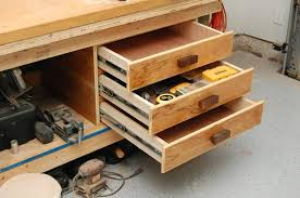 Ideas For Workbench With Drawers Design Add Drawer To Workbench Search Garage Ideas Pinterest