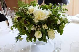 white centerpieces blush floral design green and white centerpieces