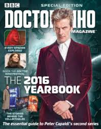 yearbook uk doctor who magazine special 2016 yearbook doctor who magazine