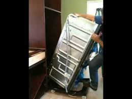 how to install a wall oven in a base cabinet how to install a double oven in just one minute youtube