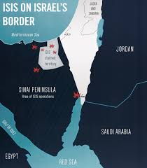 Judea Map 5 Years Of Isis Terror On Israel U0027s Southern Border
