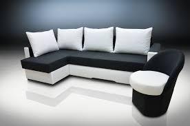 Corner Sofa Ebay Sofa Bed Zeus And Small Chair Jack Suedline Fabric Black White