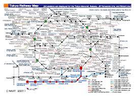Tokyo Metro Map Tokyo Public Transportation Map Tokyo U2022 Mappery