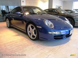 Porsche 911 Blue - 2007 porsche 911 carrera s coupe in cobalt blue metallic 731568