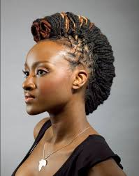 natural locs hairstyles for black women mohawk hairstyles for black women mohawk style with dreadlocks