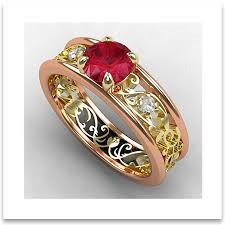 old wedding rings images Vintage wedding rings infusing old world charms in modern styles jpg