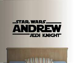 28 personalised wall sticker quotes star wars jedi knight personalised wall sticker quotes star wars jedi knight personalized custom name quote vinyl