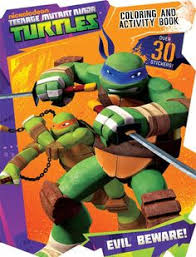 teenage mutant ninja turtles bendon purlishing 8 99 coloring