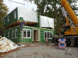 modular home builder big sky custom homes and westchester may the first house to win passivhaus certification in new jersey could turn out to be a modular home under construction in teaneck nj