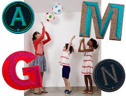 buchstaben für kinderzimmer buchstaben für das kinderzimmer selbst gestalten