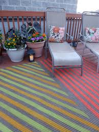 Indoor Outdoor Patio Rugs by My Insanely Awesome Diy Outdoor Rug Design Improvised