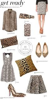 wild about leopard print stencil stories