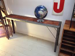Small Hallway Table Narrow Hallway Table Design Decorating Ideas Image Of Recycled