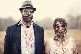 Zombie Bride Groom Halloween Costumes Zombies Bride U0026 Groom Walyou